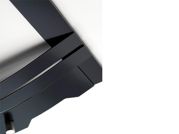 3-bar Contemporary Fascia - Black